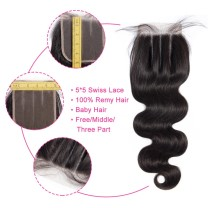 What is 5x5 Lace Closure
