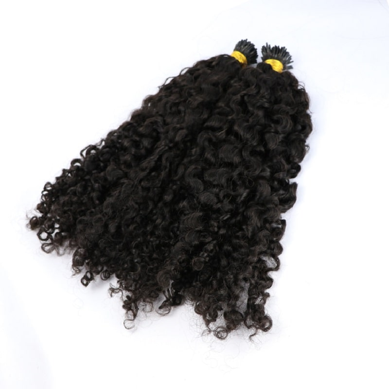 Micro Ring Hair Extensions - Deep Curly