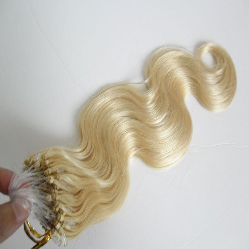 Micro Ring Hair Extensions - Loose Wave