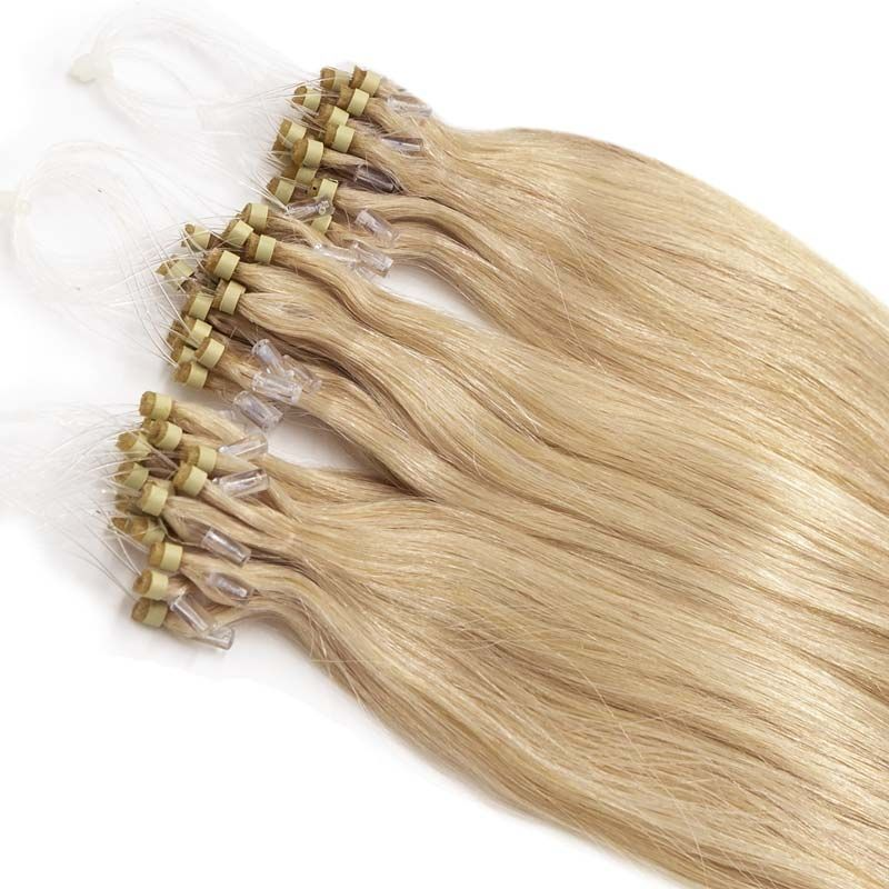 Micro Ring Hair Extensions - Straight