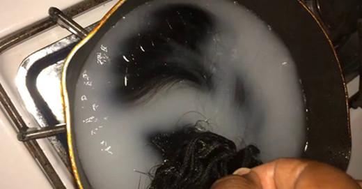 boiling hair