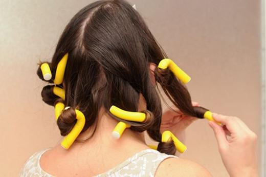 hair flexi roll