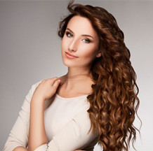 HOW TO GET PERMANENT CURLY HAIR