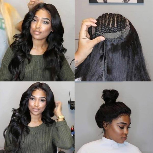 lace frontal installation