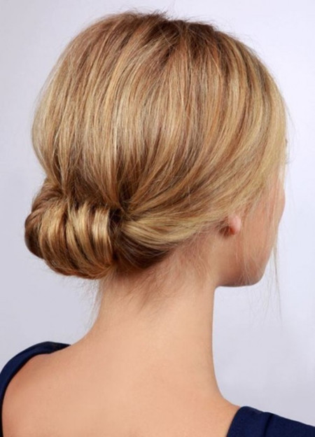 working hairstyle