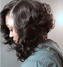 DO YOU LIKE SEW IN BOB NO LEAVE OUT