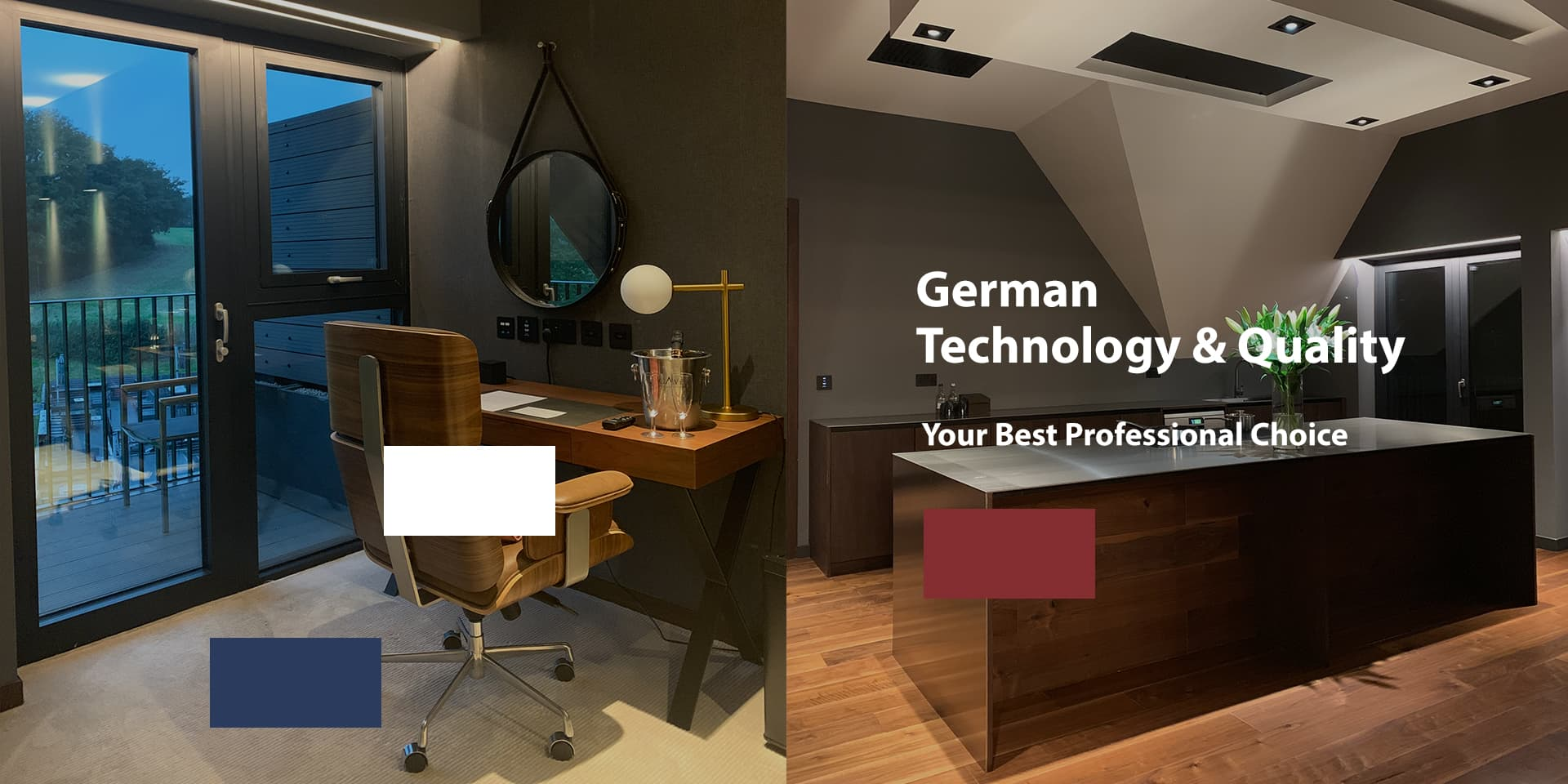 German technology & quality, your best professional choice.