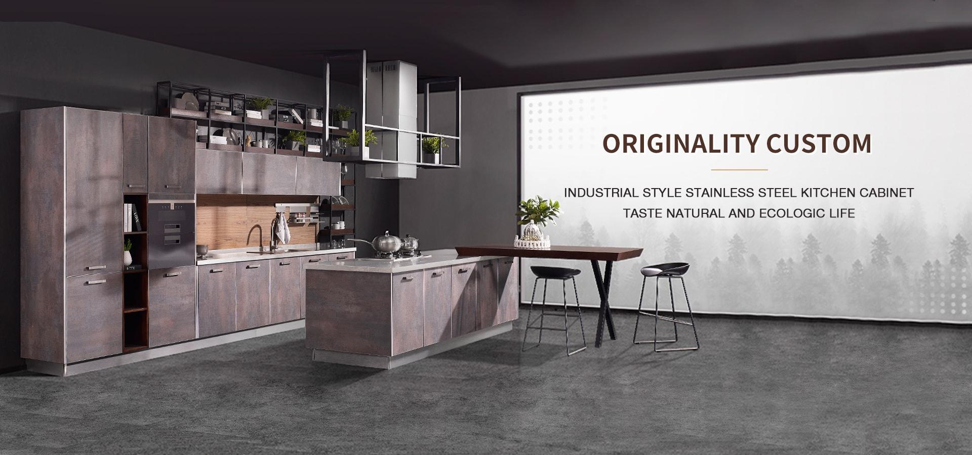 Stainless-Steel-Kitchen-Cabinets--Custom-Kitchen-Cupboards-1