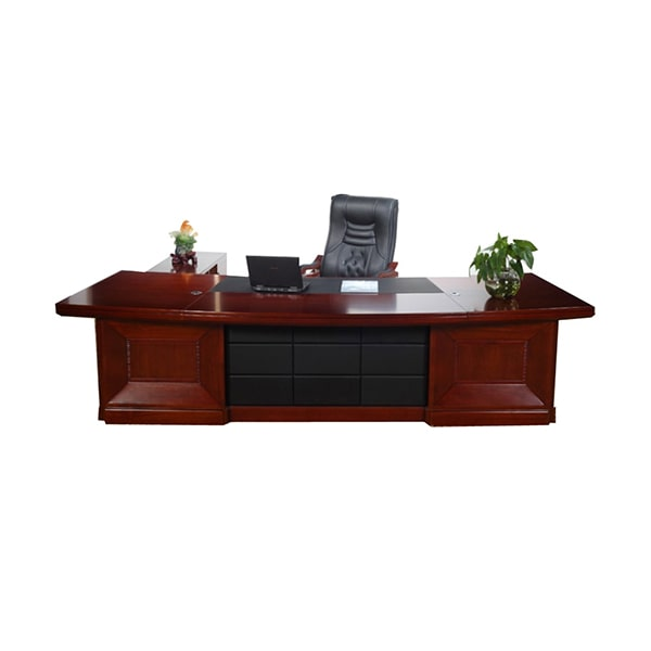 Custom Solid Wood Executive Desk