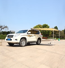 car side awning and tent house
