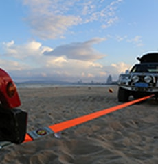 offroad recovery tow strap