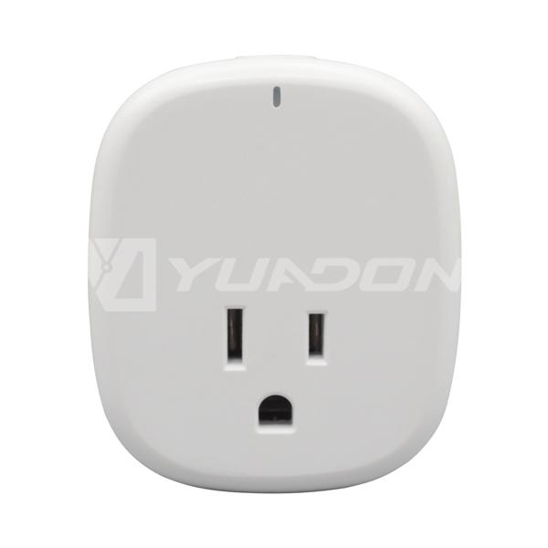 American Wifi Socket with USB Alexa Intelligent Smart Socket Power Tracker Timing smart wifi outlet setu