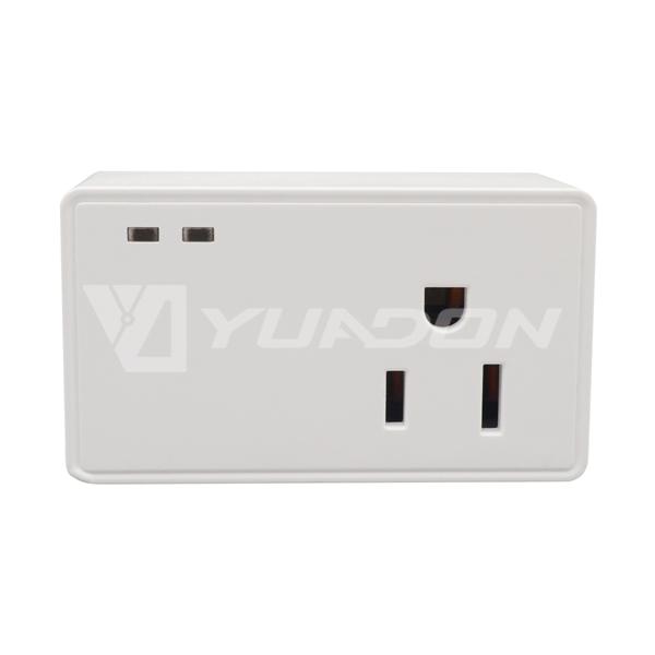 WiFi Controlled Smart Plug Google Home Mini American wifi smart socket indicator light
