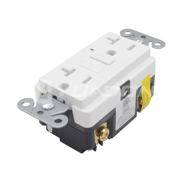 20 Amp GFCI Receptacle Outlet GFCI Duplex Receptacle Tamper Resistant wall receptacle gfci outlet NEMA 5-15R