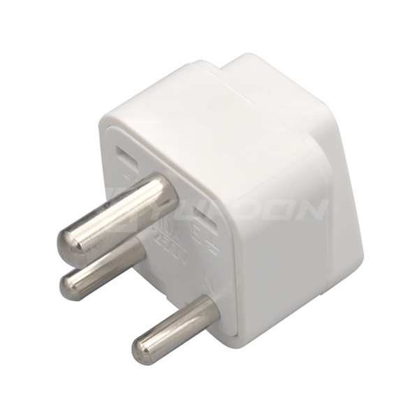 10A Type D India Travel adapter