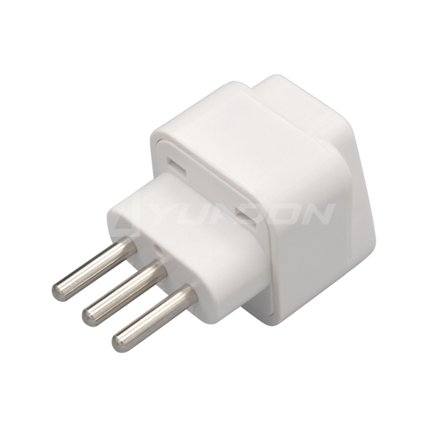 Universal to Swiss Italy Plug Adapter 3-pin Male Plug Italy Travel AC Adapter for Travel Accessories