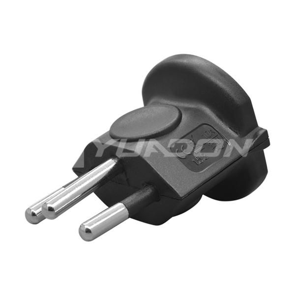 France to Swiss adapter Switzerland ac power adapter Type J Three Pins Plug Adaptor