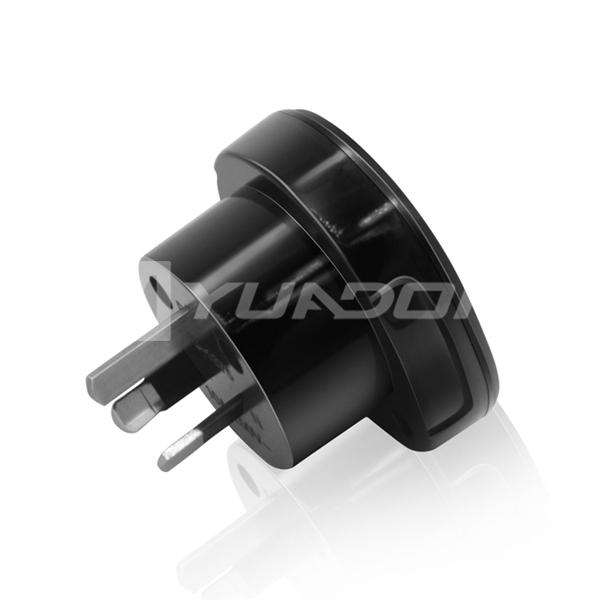10A 240V Australian Plug Socket Travel Adapter with SAA Certificate UK-US to Australia Power Adapter