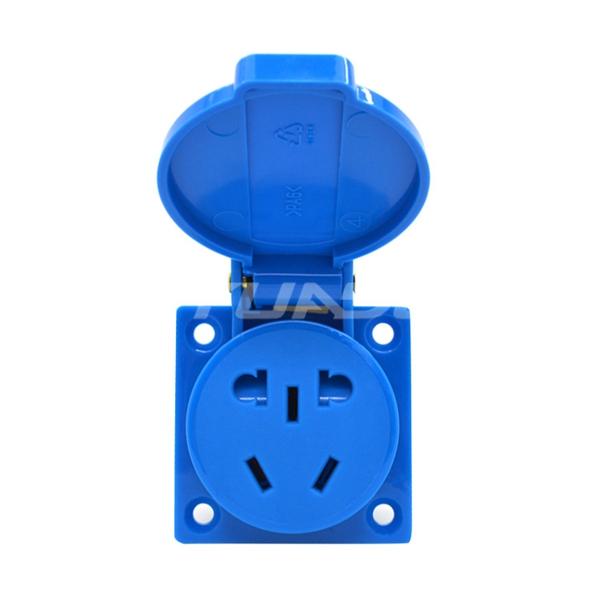 Super Tough Universal Outdoor Waterproof Switch Power Socket Floor Waterproof Outlet