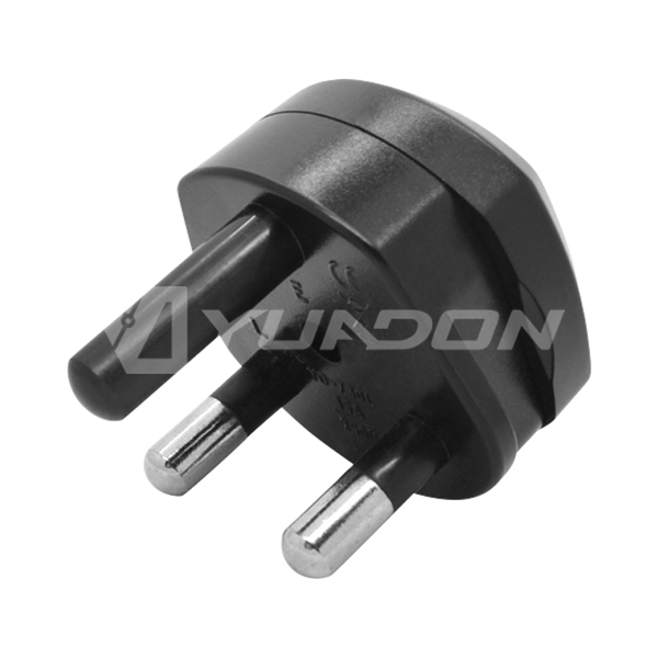 15A Type M South Africa Plug Adapter to EU US 3 pin Travel Power Plug Adapter
