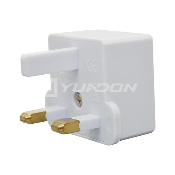 Adapter uk eu British travel adapter for USA UK 3 pin travel adapter world to uk singapore uk plug adapter