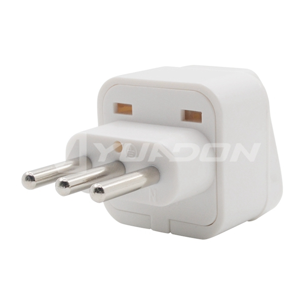 3 pins Italy plug adapter Type L Chile plug electric plug Italy