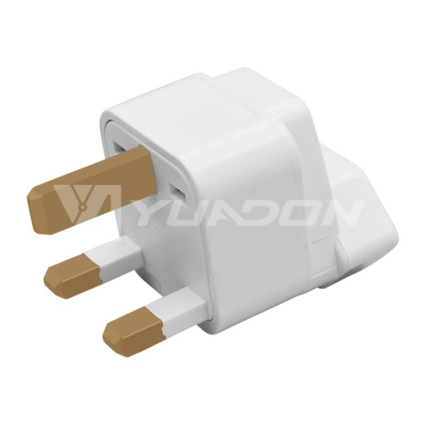 Brazil socket to UK power plug adapter 3 pins to 3 pins electrical plug converter