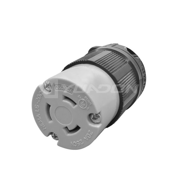 NEMA L6-20R YDL620C Female NEMA Waterproof Plug Connector