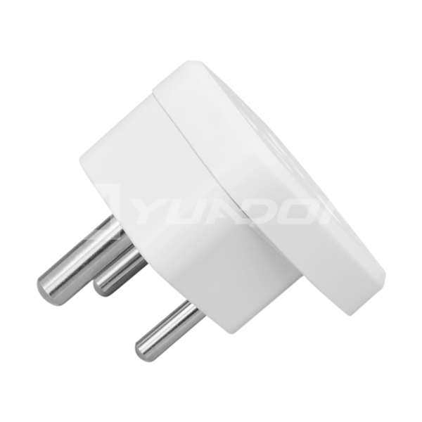 Type D plug 10A India travel adaptors Universal to India plug adapter with child shutter