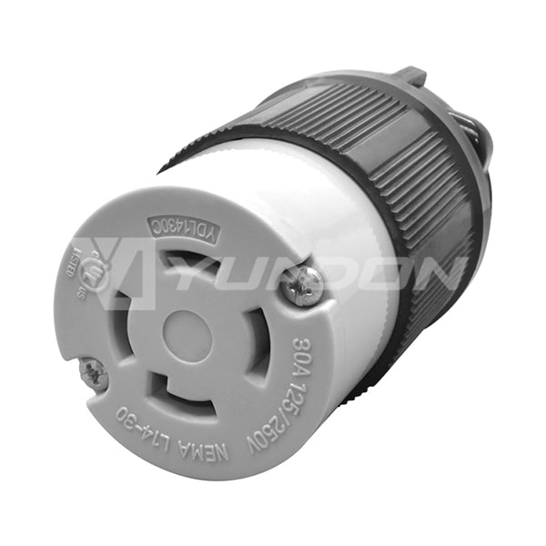 Cooper Wiring Devices UL Standard Receptacle NEMA L14-30C Twist Lock Connector Generator