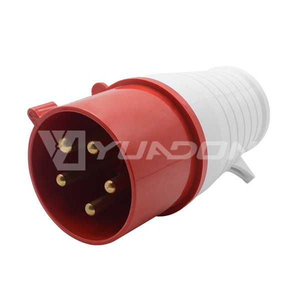 IP44 Industrial Plug 16A 32A 220-380 / 240-415v 5 Pin 015 025 Electric Industrial Waterproof Socket