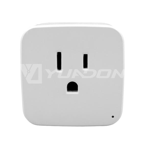 Mini size CE FCC Wifi Plug USA Standard Wireless Smart Home Digital Timer Wifi Plug