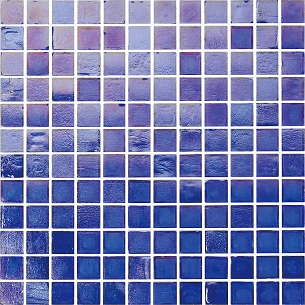 23x23mm Coloured Glaze Material Stained Glass Mosaic for Swimming Pool Backspash Tiles Wholesale