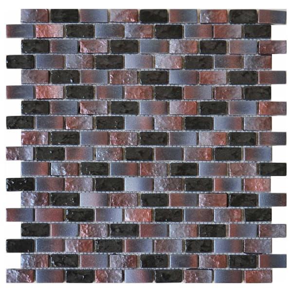 Foshan Ralart Mosaic's Glossy Purple Gradients 15*30 Rectangle Recycled Glass Mosaic for Bathroom, Kitchen Backsplash, Spa, Swimming Pool and Wall Decoration