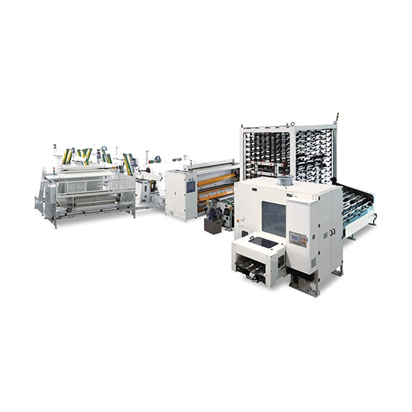 Automatic High Speed Toilet Roll Kitchen Towel Production Line