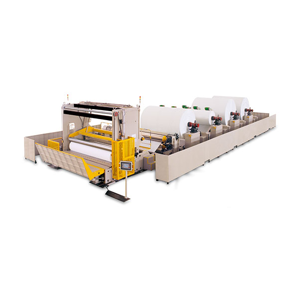 jumbo reel machine slitting rewinder