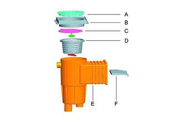 Standard Skimmer for Concrete Swimming Pool 04
