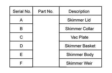Standard Skimmer for Concrete Swimming Pool 05
