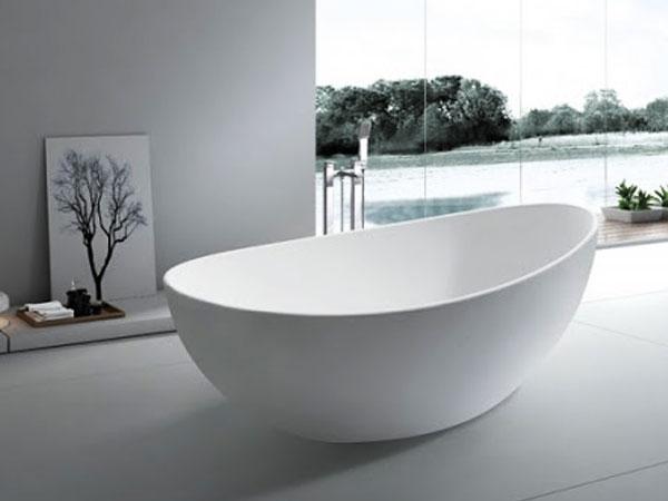 选择人造石浴缸,让沐浴随心所欲