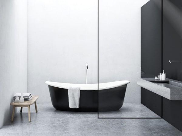 看完这几点就能明白不同材质浴缸的清洁技巧了!