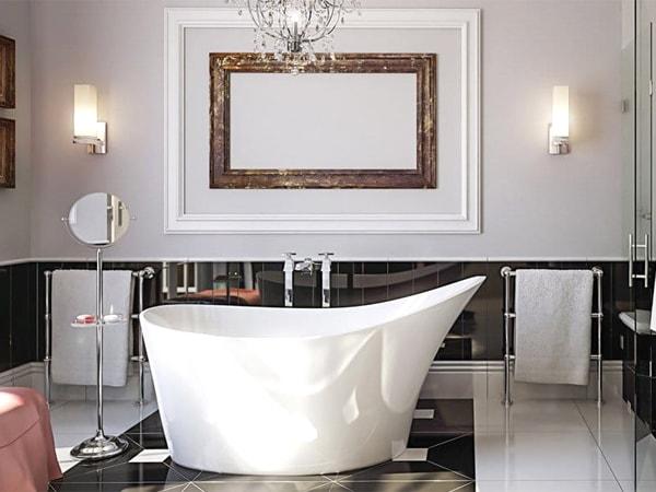 如何保养您的人造石浴缸