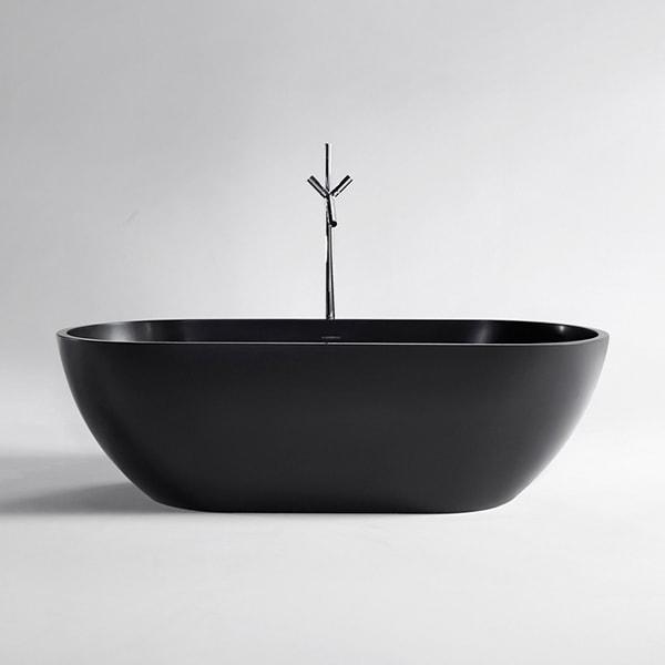 人造石浴缸 欧式一体环保浴缸 酒店立式浴盆 浴缸生产厂家BS-S17