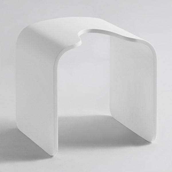 定制人造石小凳子 酒店家用浴室用凳子 时尚创意小板凳 SD107