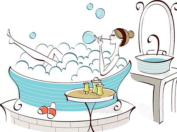 洗澡诀窍舒缓你的压力泡澡篇-浪蒂卫浴