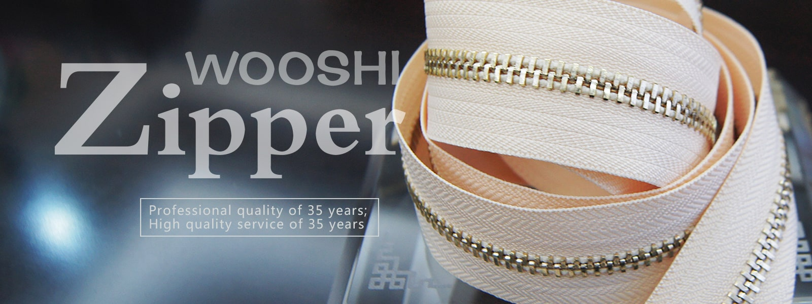 Nylon Zipper Wholesale - Wooshi Zipper