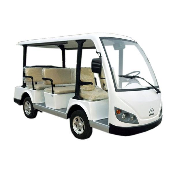 8 seats electric shuttle car