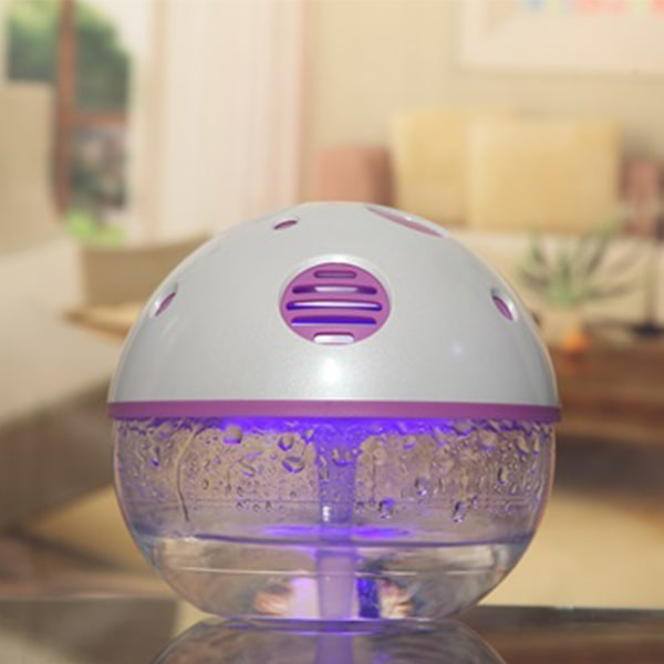 lighted water air purifier