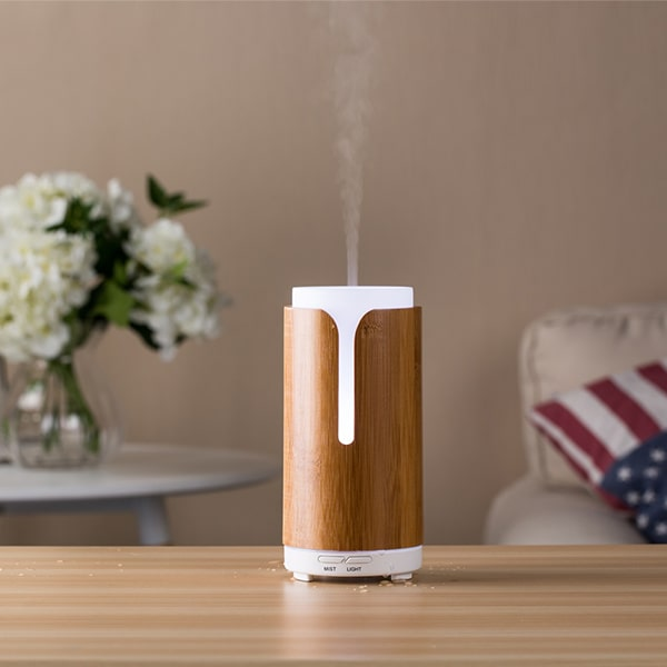 bamboo aromatherapy essential oil home diffuser