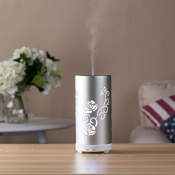 LED lights misting humidifier