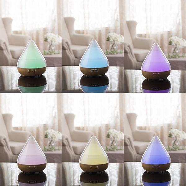 transparent aroma lamp diffuser